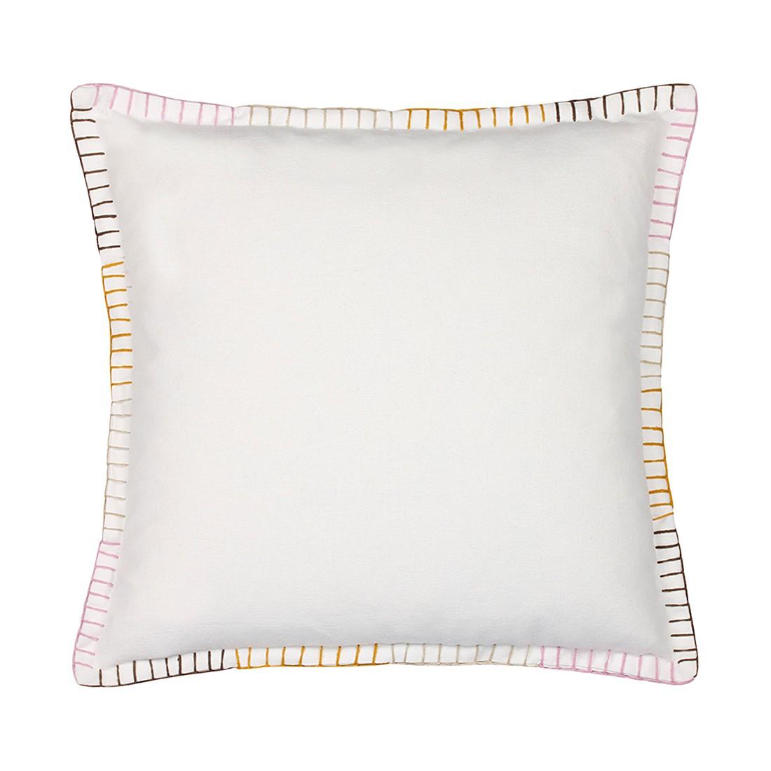 Kissen Papeete – 50 X 50 cm, Pink, Baumwolle – Kissenhülle, ohne Füllung, Dutch Decor günstig bestellen