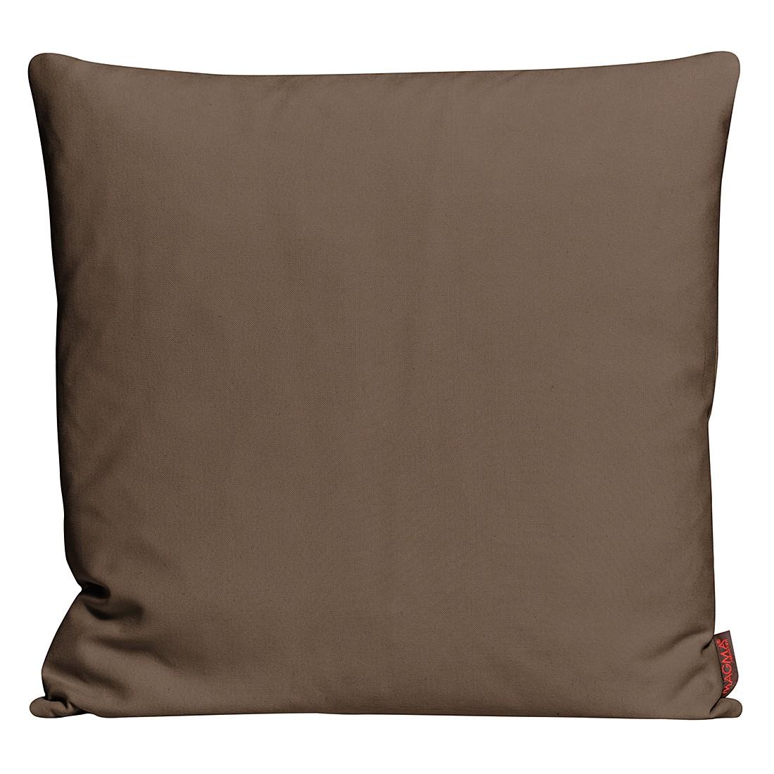 Kissenhülle Paso – Braun – Maße: 40 x 40 cm, Magma-Heimtex jetzt kaufen