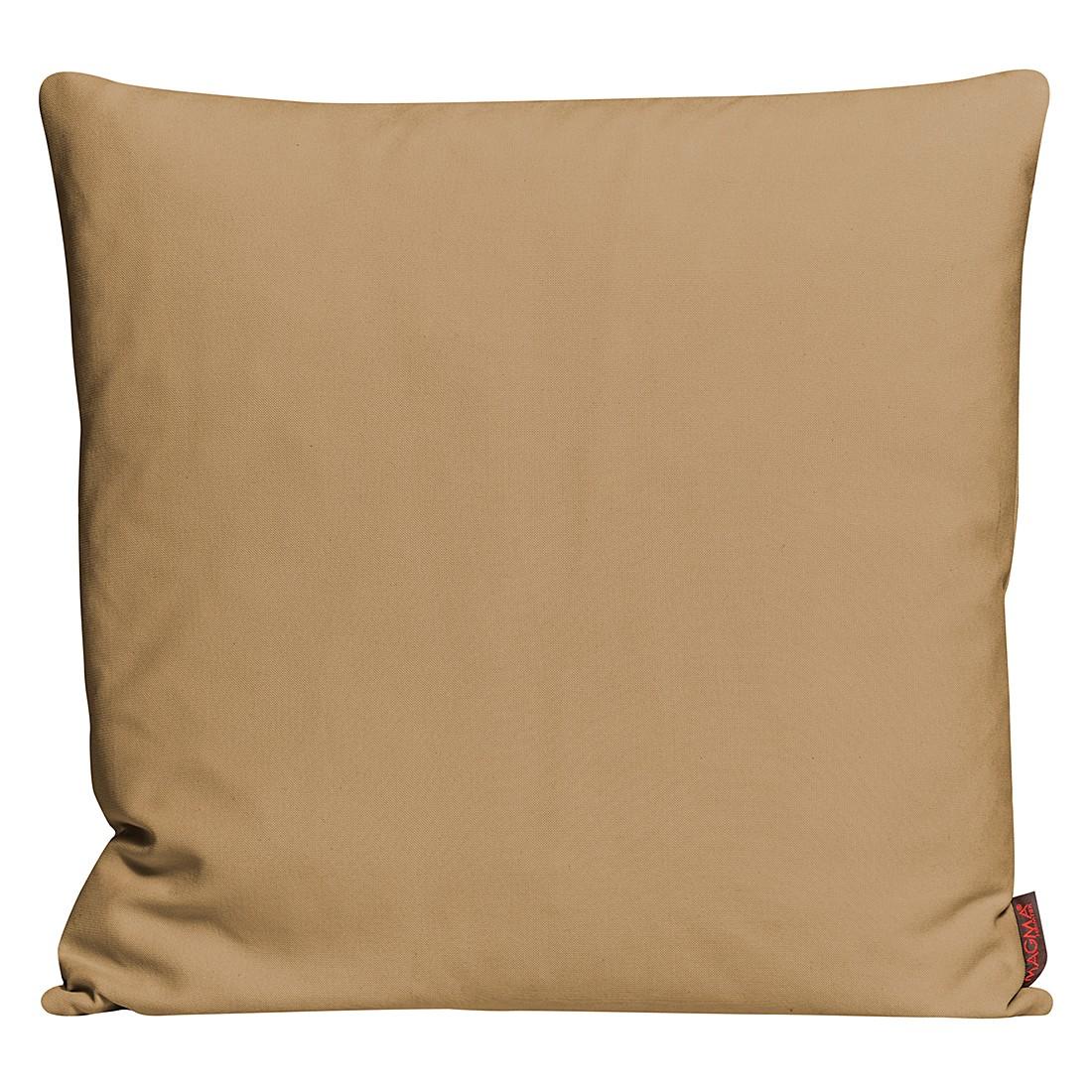 Kissenhülle Paso – Caramel – Maße: 50 x 50 cm, Magma-Heimtex günstig