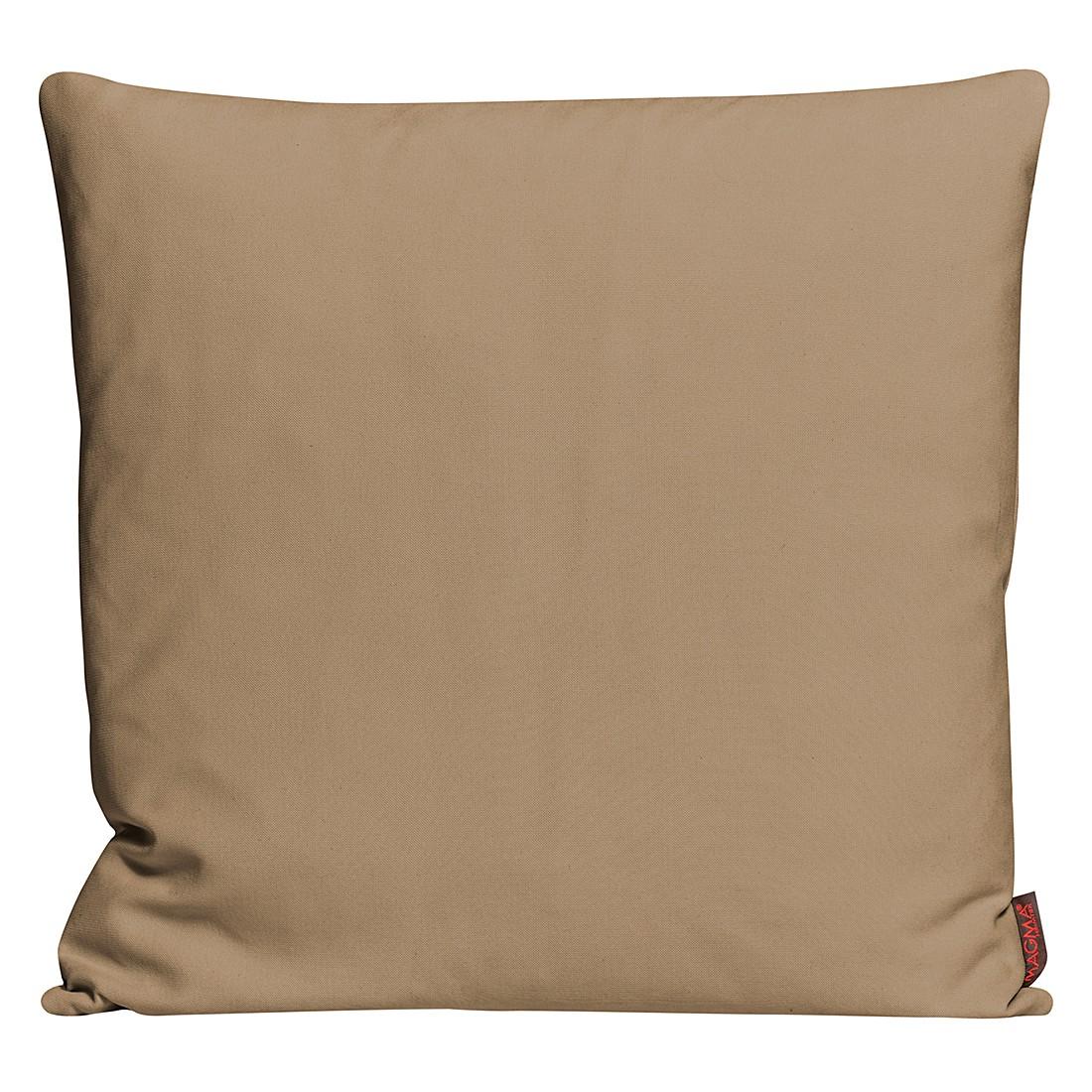 Kissenhülle Paso – Sand – Maße: 50 x 50 cm, Magma-Heimtex günstig