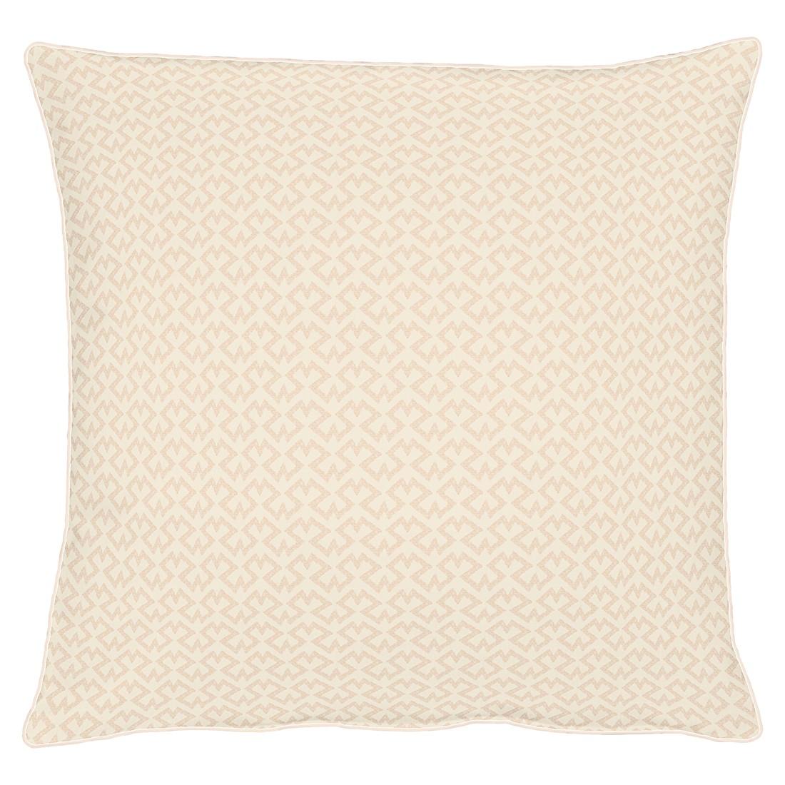 Kissenhülle Pizzo – Beige – 49 x 49 cm, Apelt günstig online kaufen