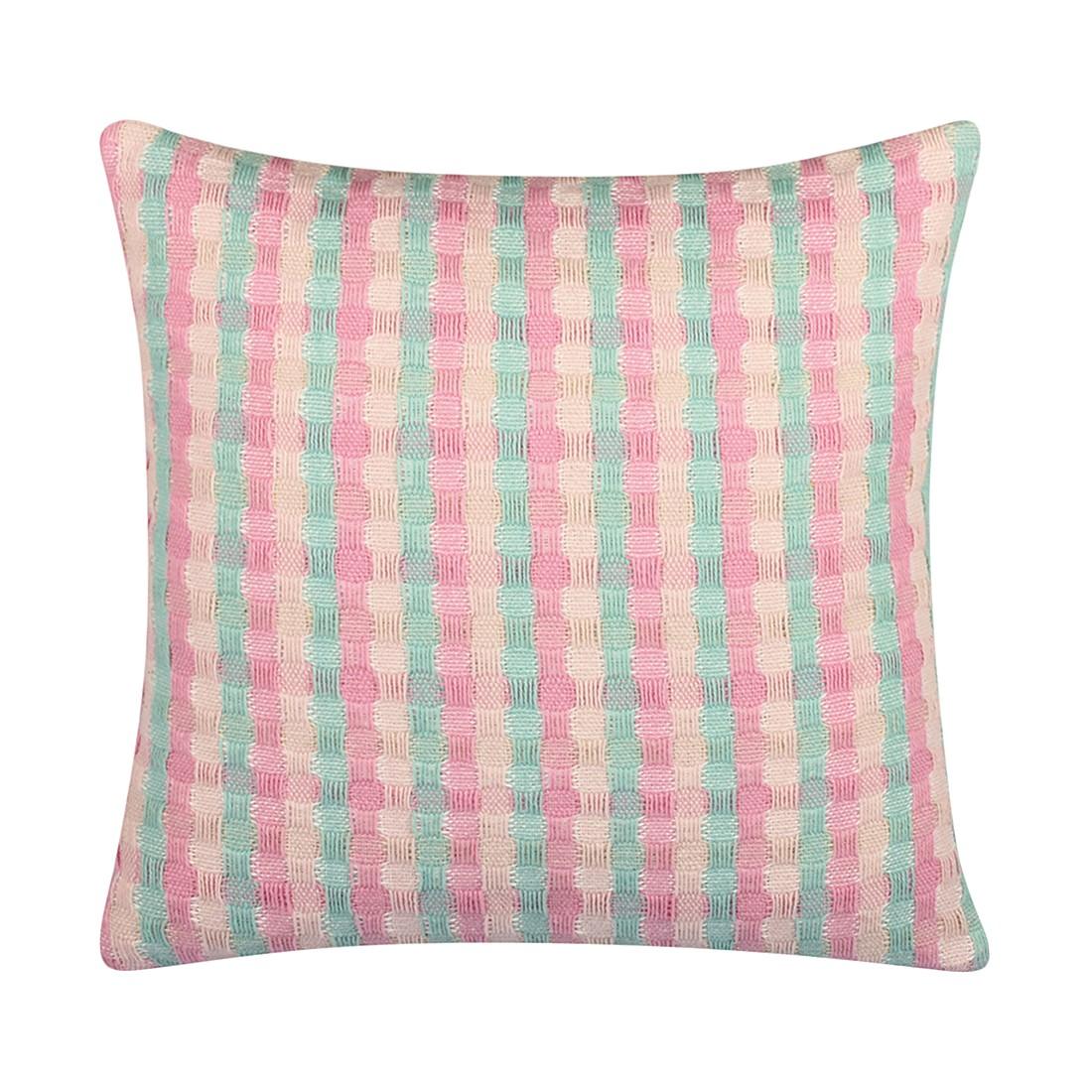 Kissen Sirmione – 45 X 45 cm, Grün, Polyester – Kissenhülle, ohne Füllung, Dutch Decor online bestellen