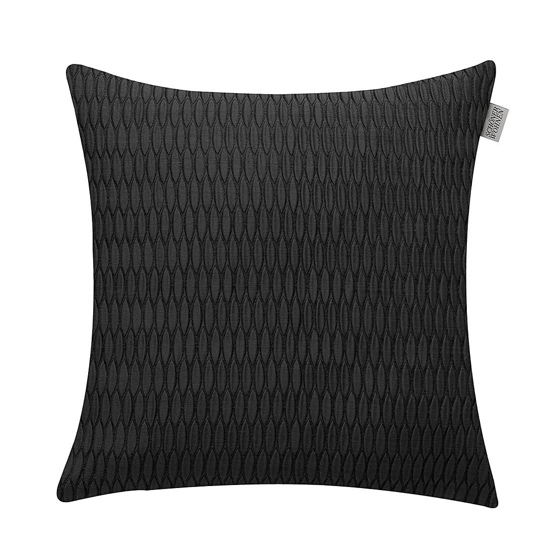 Kissenhülle SW-Shape – Schwarz – Größe: 38 x 38 cm, Schöner Wohnen Kollektion günstig bestellen