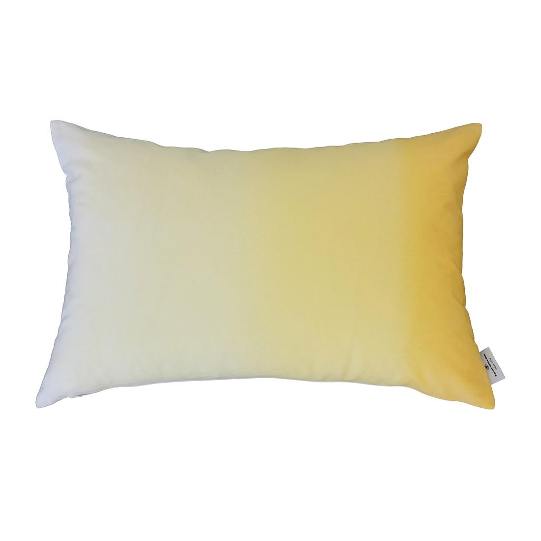 Kissenhülle T-Colour Flow – Gelb – Maße: 35 x 55 cm, Tom Tailor günstig online kaufen