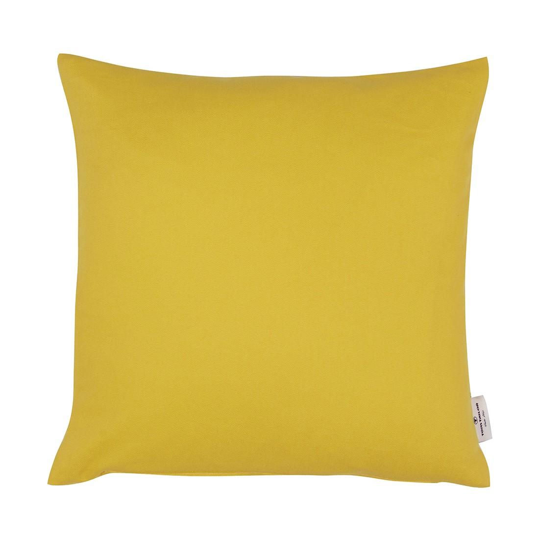 Kissenhülle T-Dove – Zitrone – Maße: 50 x 50 cm, Tom Tailor günstig online kaufen