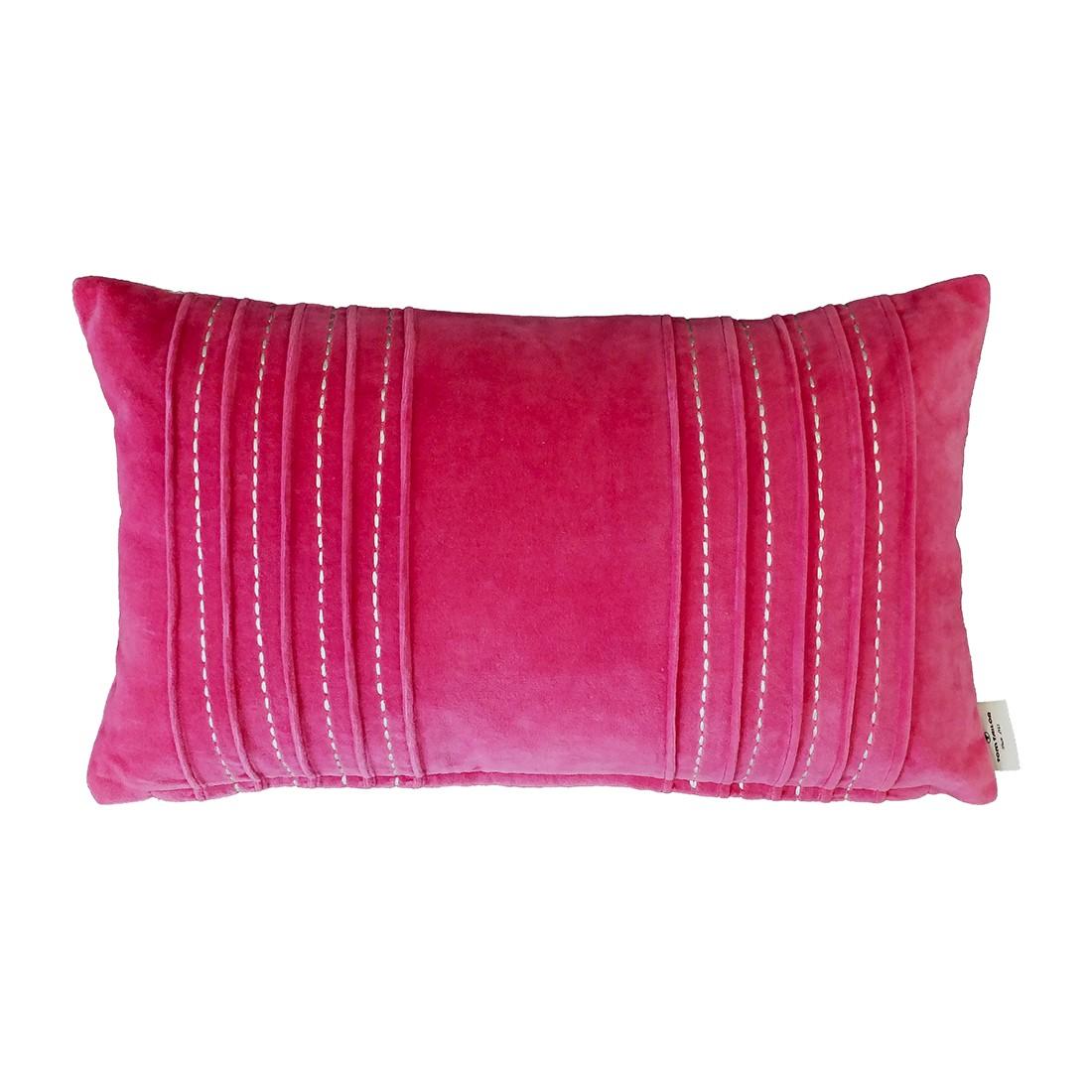 Kissenhülle T-Plush – Pink – Maße: 30 x 50 cm, Tom Tailor günstig