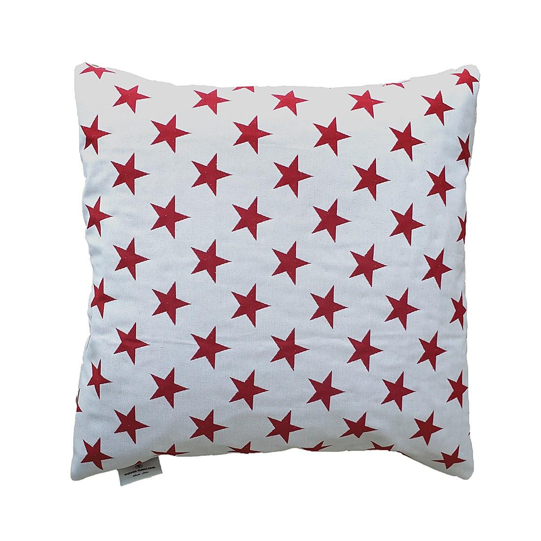 Kissenhülle T-Star (40×40 cm) – Weiß, Tom Tailor günstig kaufen