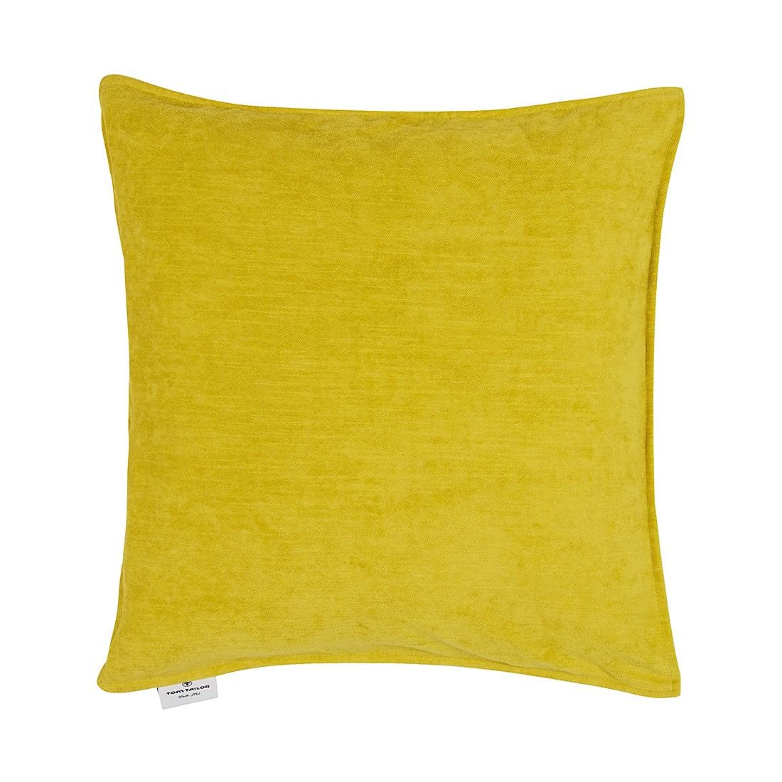 Kissenhülle T-Velvet (40×40 cm) – Senf, Tom Tailor günstig bestellen