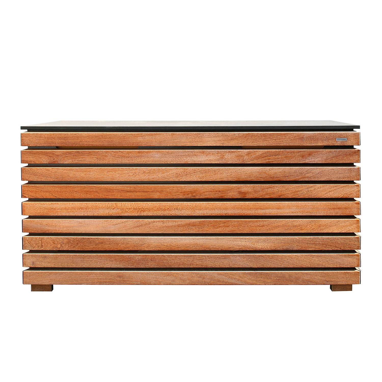 Kissentruhe Forte - Holz - Natur, Conmoto