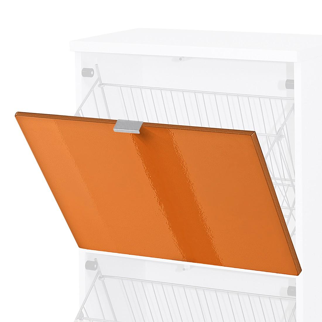 Top Square Sportello A Ribalta Colorado Arancione Lucido Top Square #B7500E 1100 1100 Idee X Arredare Una Cucina Piccola
