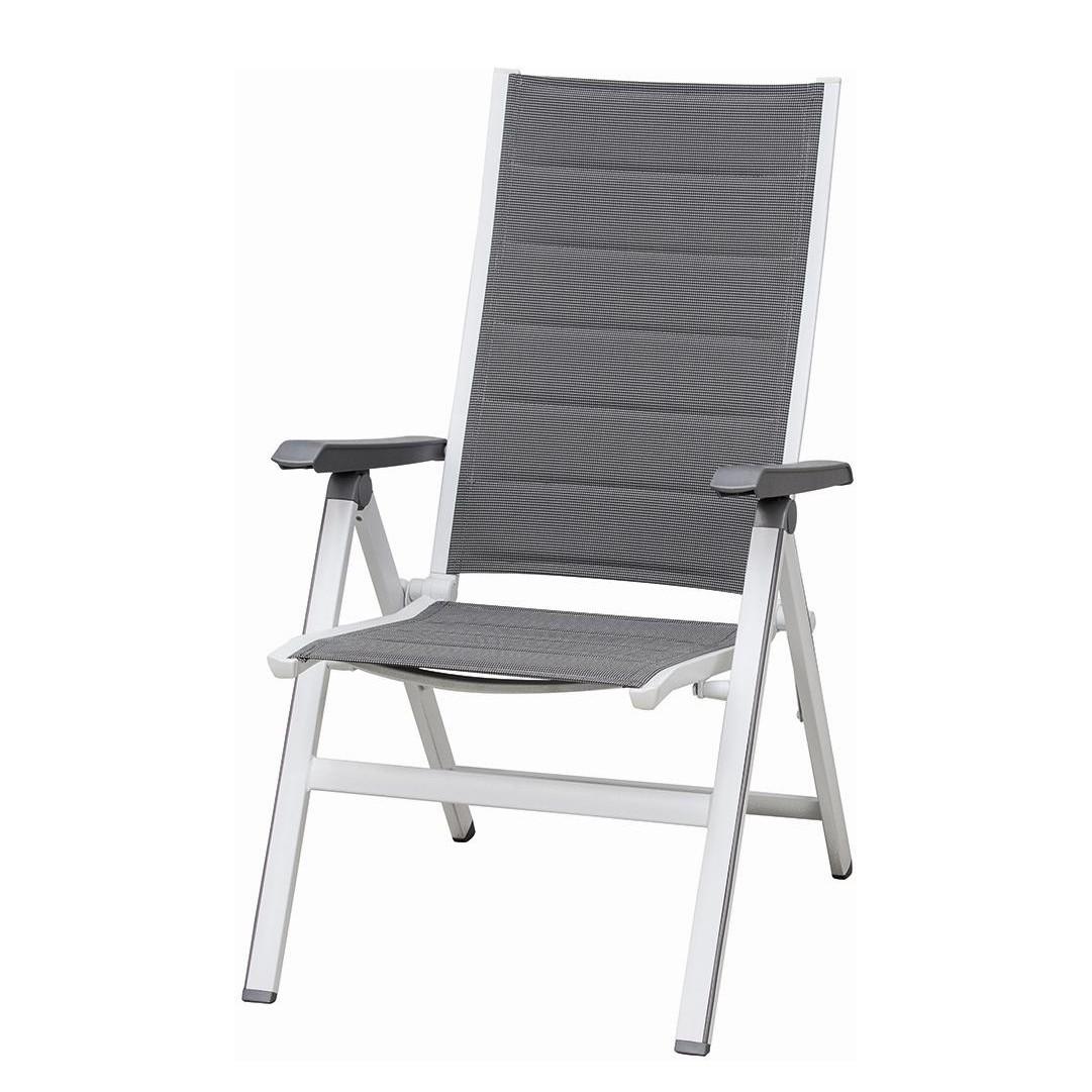 klappstuhl futosa kunstfaser aluminium anthrazit. Black Bedroom Furniture Sets. Home Design Ideas