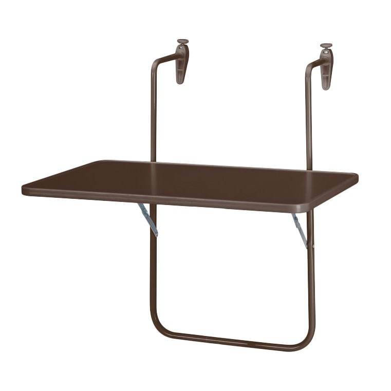 Klapptisch Boy - Kunststoff/Stahl - Braun, Best Freizeitmöbel