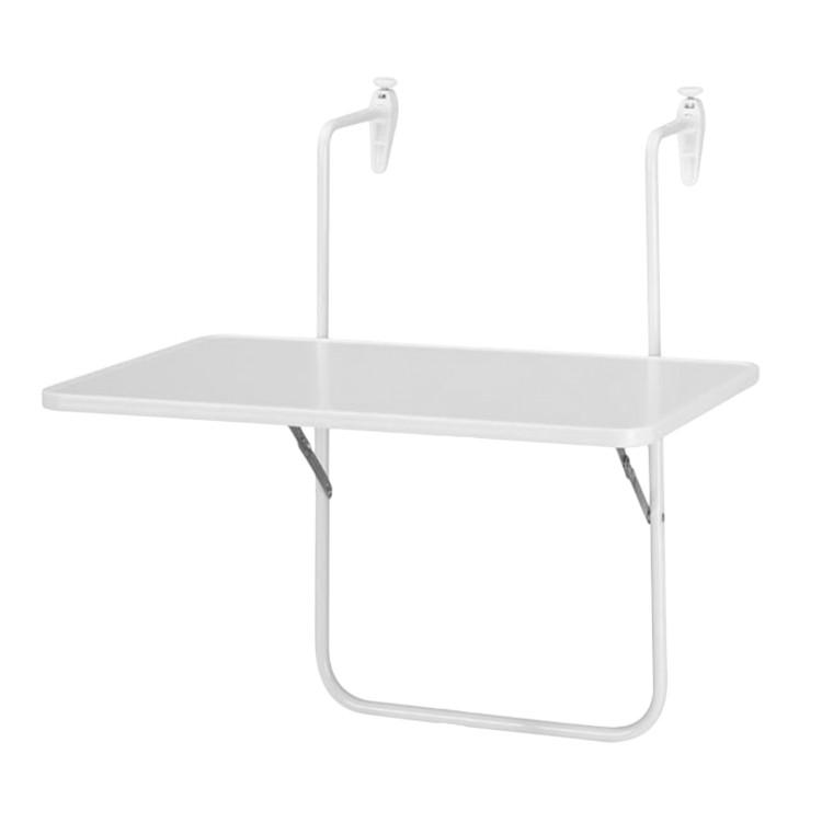 Klapptisch Boy - Kunststoff/Stahl - Weiß, Best Freizeitmöbel