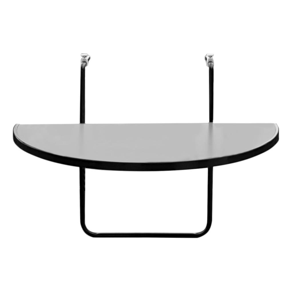 Klapptisch Butler - Kunststoff/Stahl - Anthrazit, Best Freizeitmöbel