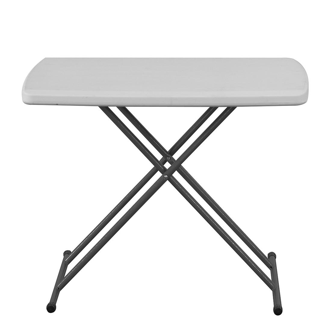 Klapptisch Easy III - Stahl/Kunststoff, Blanke Design