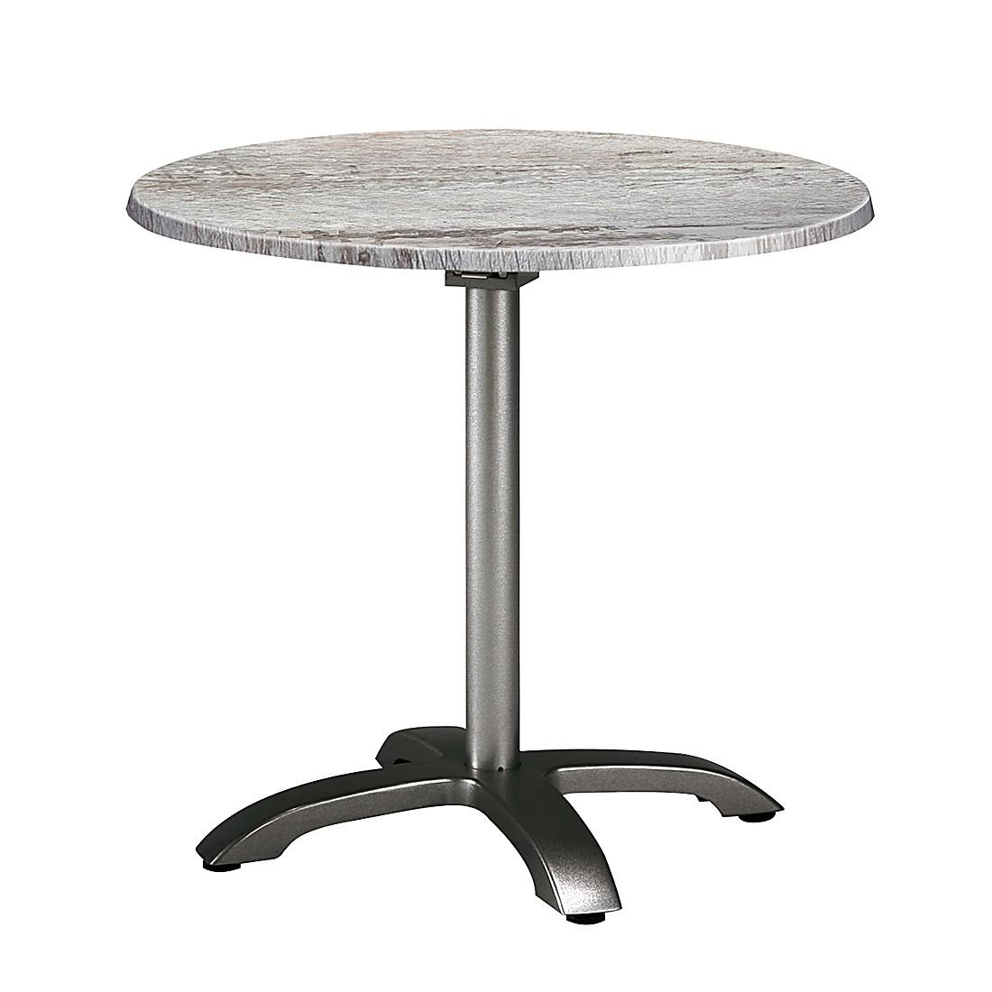 Klapptisch Maestro - Aluminium/Werzalit - Anthrazit/Montpellier Dekor, Best Freizeitmöbel