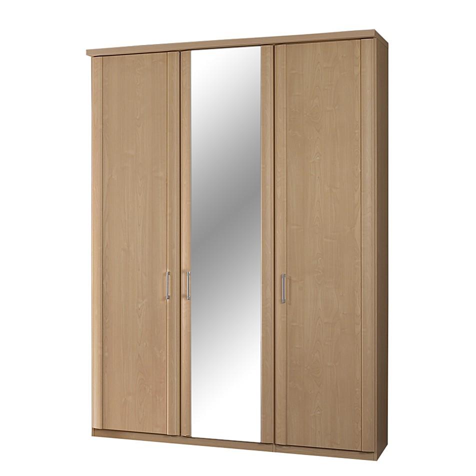 kleiderschrank bela ahorn dekor spiegel. Black Bedroom Furniture Sets. Home Design Ideas