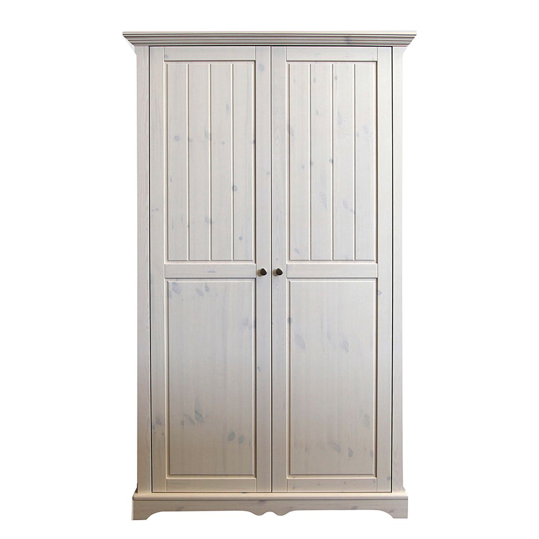 kleiderschrank karlotta 2 t rig kiefernholz white wash. Black Bedroom Furniture Sets. Home Design Ideas