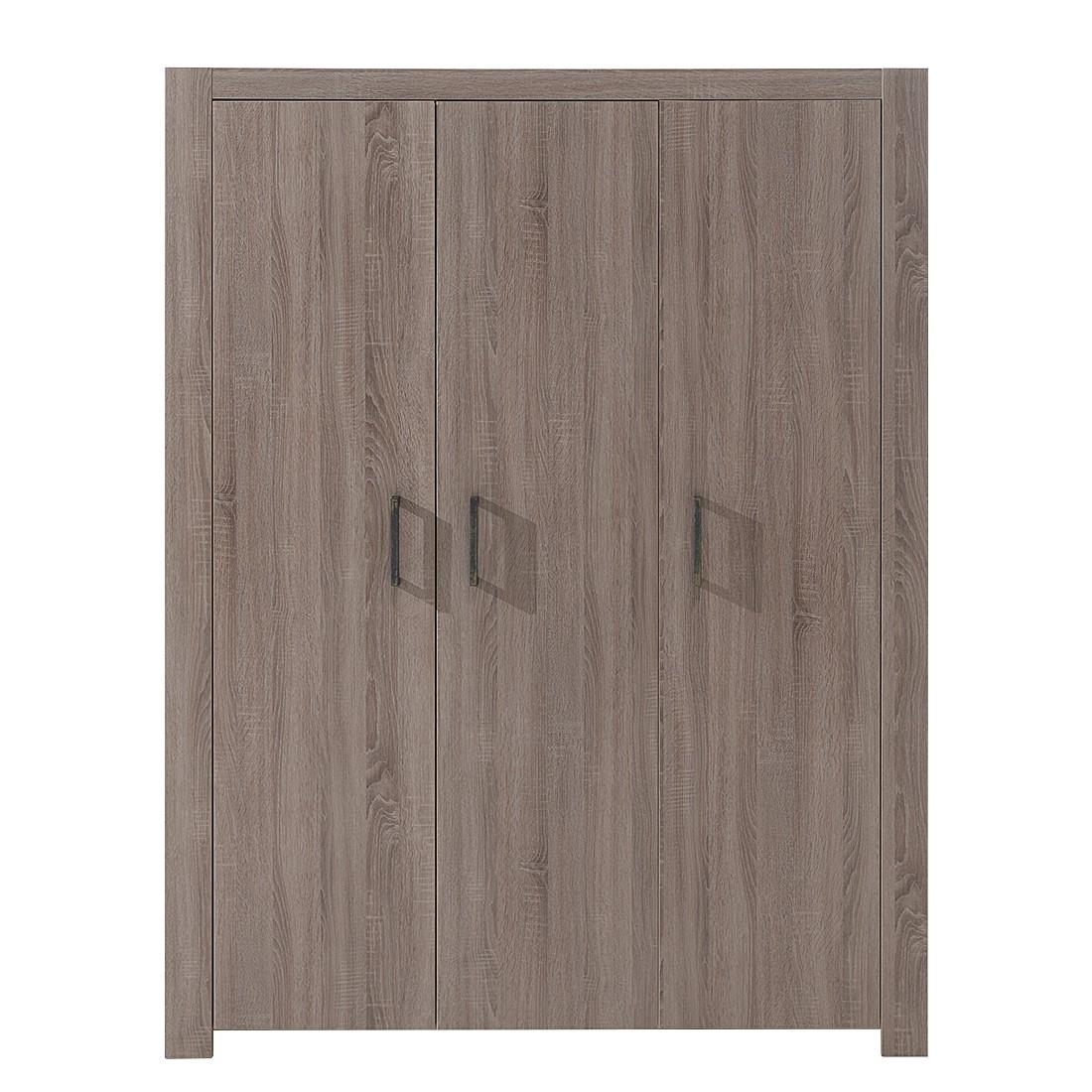 kleiderschrank lucas 3 trg eiche sonoma tr ffel dekor vipack g nstig. Black Bedroom Furniture Sets. Home Design Ideas