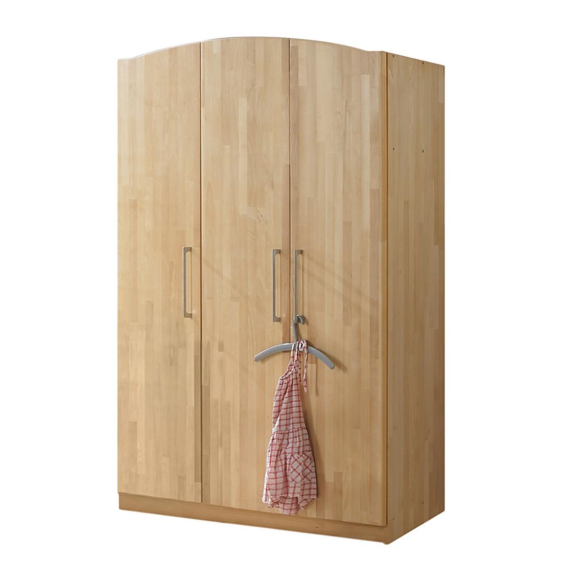 Pinolino Puppenwagen Holz Sarah Buche Natur ~ Kleiderschrank Luna  Buche massiv  Breite 140 cm Relita