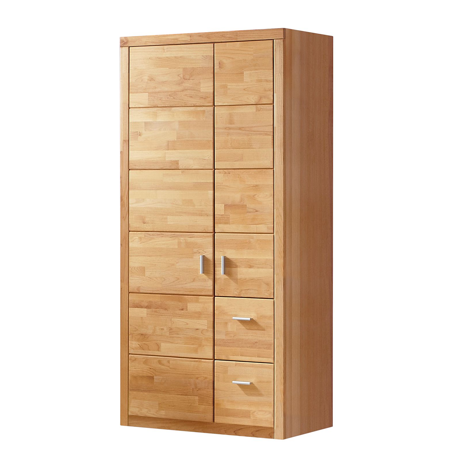 kleiderschrank erle teilmassiv ge lt 2 t rig. Black Bedroom Furniture Sets. Home Design Ideas