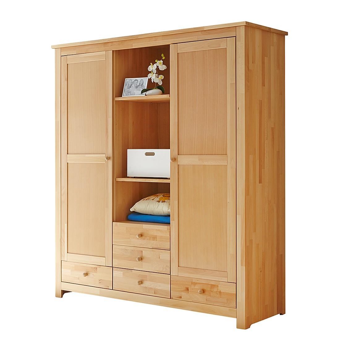 kleiderschrank buche massiv g nstig kaufen. Black Bedroom Furniture Sets. Home Design Ideas