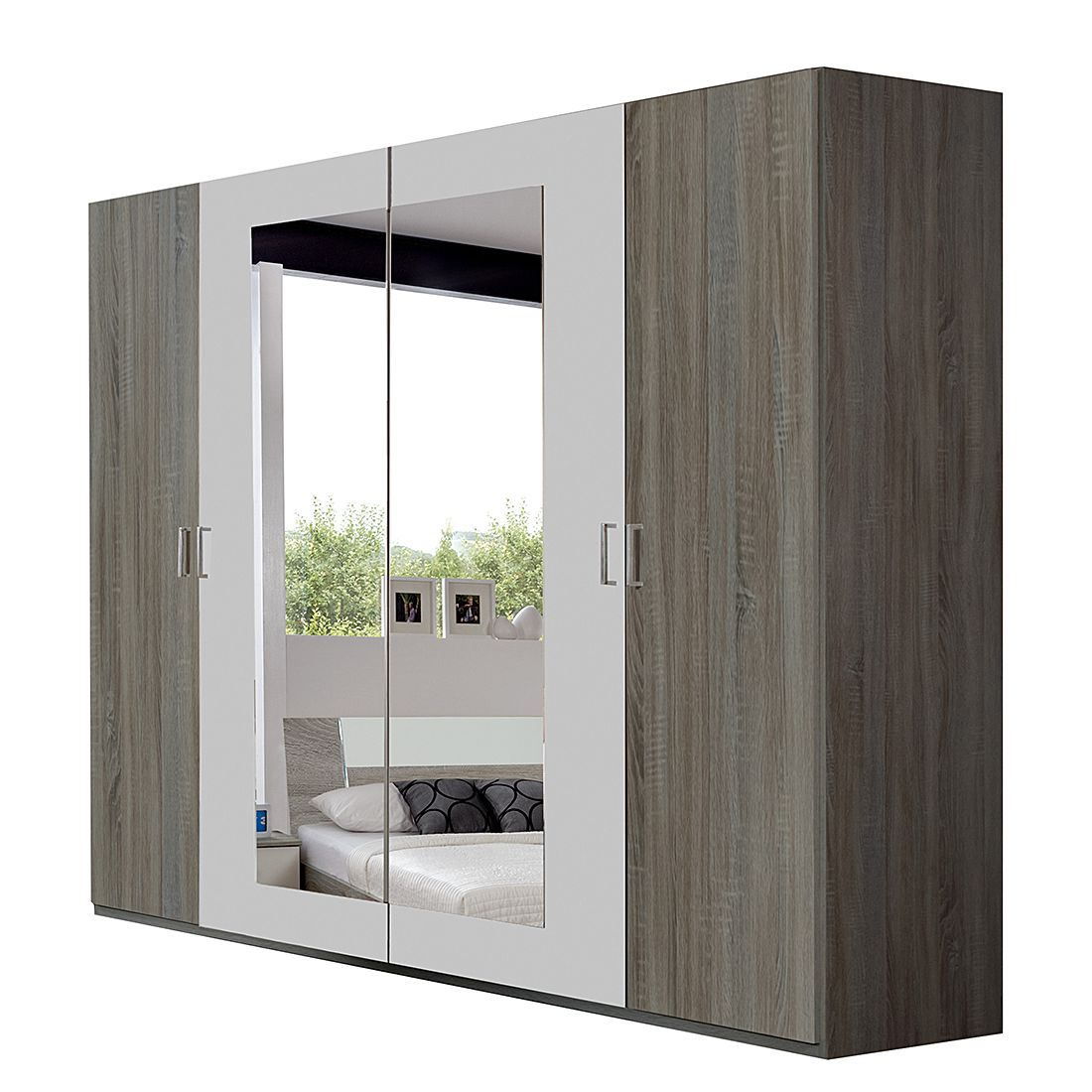 dreht renschrank tendence montana eiche alpinwei. Black Bedroom Furniture Sets. Home Design Ideas
