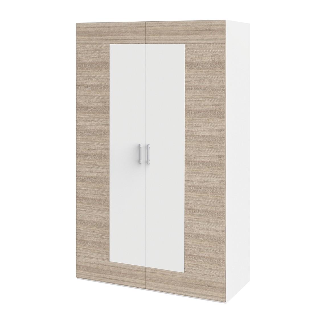 Kledingkast Vegas Plus I - 126 cm (2-deurs), röhr