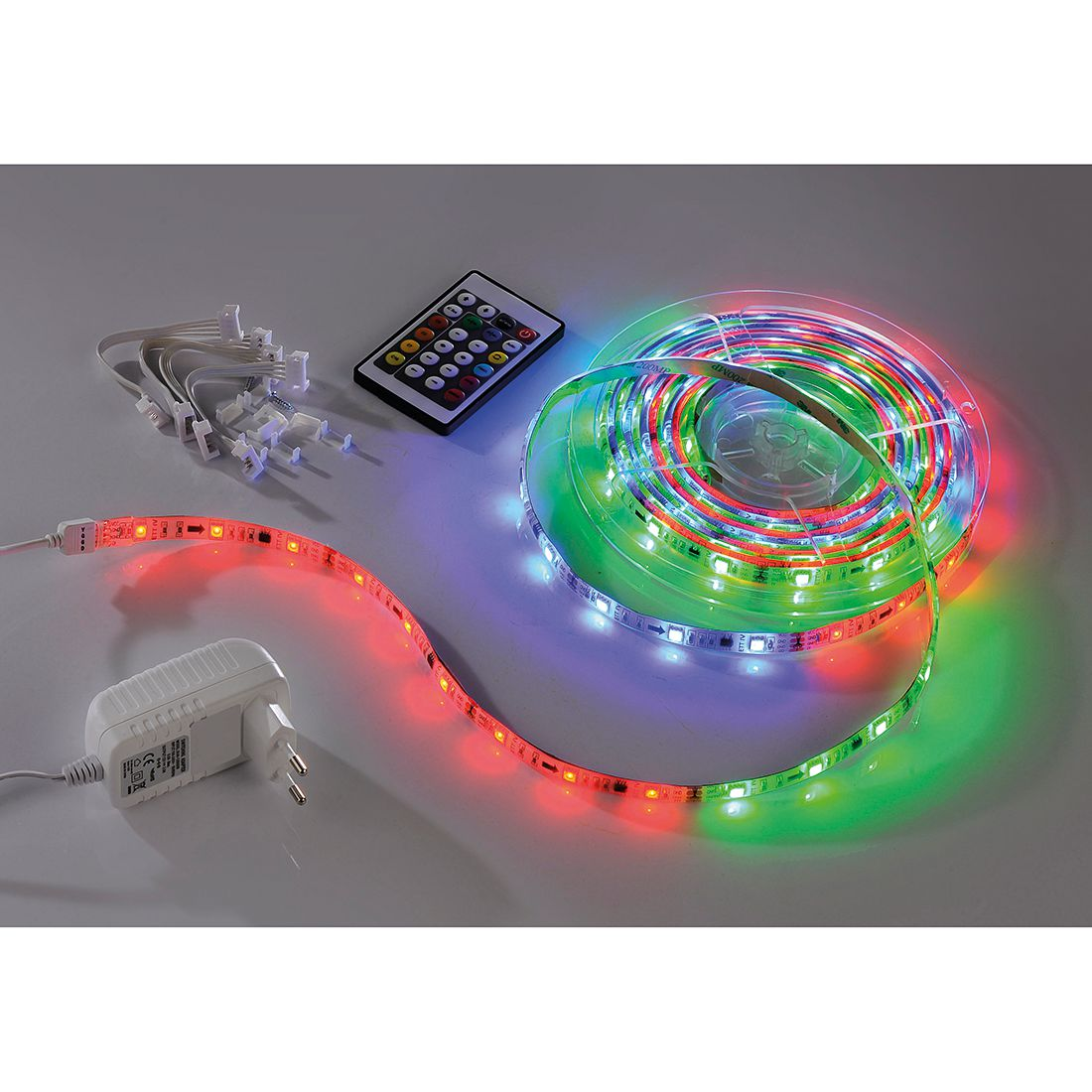 Klemm-/Möbelleuchten Teania by Leuchten Direkt ● Kunststoff ● Multicolor ● 1-flammig- Leuchten Direkt A+