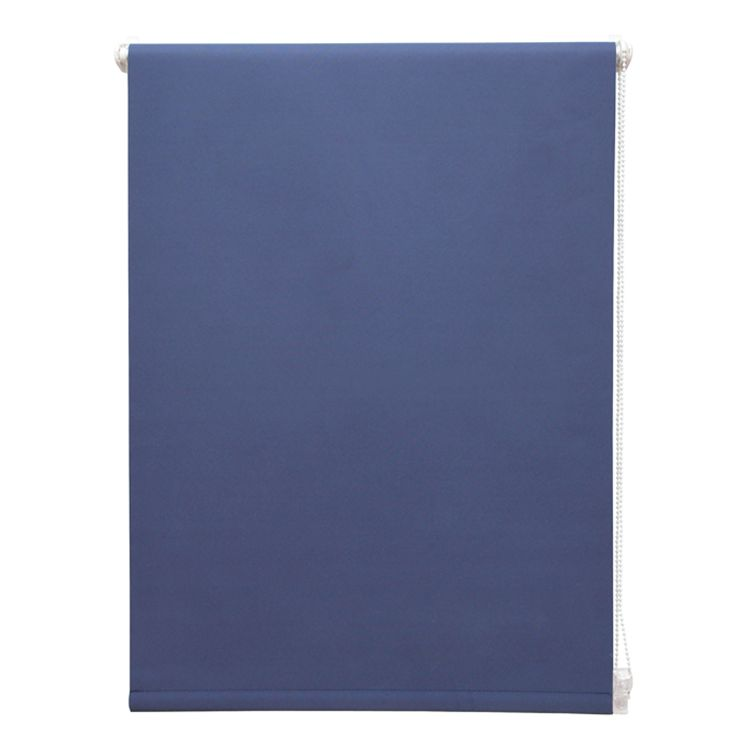 Klemmfix Rollo Lichtdurchlässig – Dunkelblau – 80 x 150 cm, Home24Deko günstig kaufen