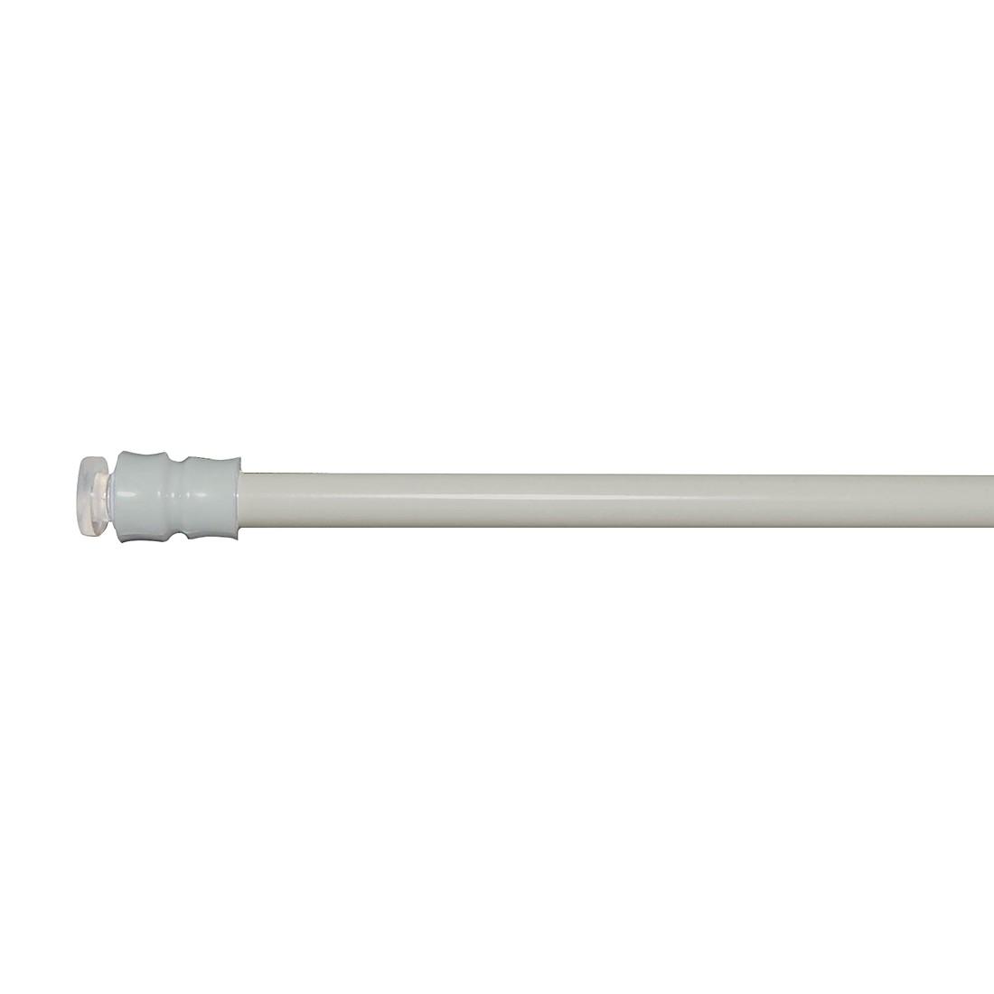 Klemmstange Fix (ausdrehbar) – Silber – 80 – 120 cm (ausziehbar), indeko günstig