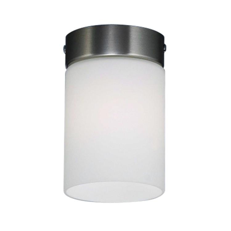 Deckenleuchten Koerich – Metall/Glas – Nickel/Opal-matt, Böhmer Leuchten günstig kaufen