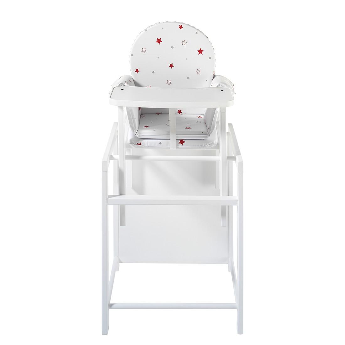 kombi hochstuhl x tra ii buche massiv wei schardt. Black Bedroom Furniture Sets. Home Design Ideas