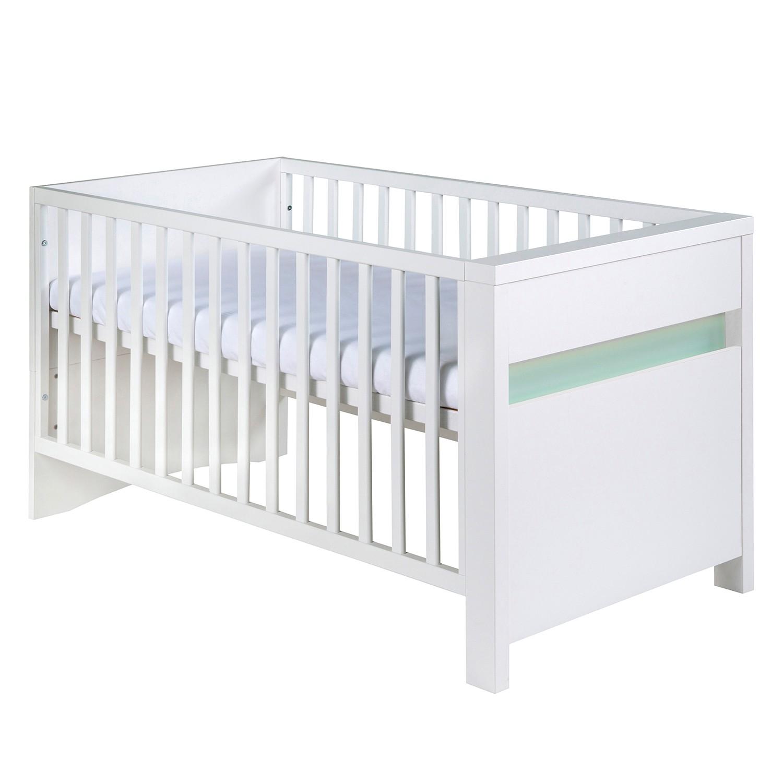 Kombi-Kinderbett Planet - Weiß / Türkis, Schardt