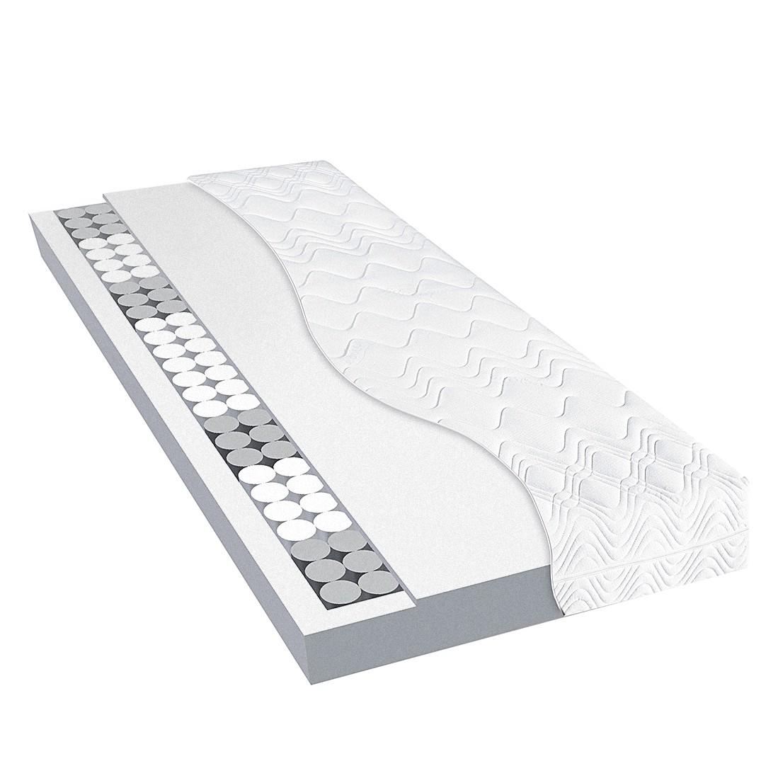 TFK Basic-Tonnen-Taschenfederkernmatratze - 80 x 200cm - H3 ab 80 kg, Dunlopillo