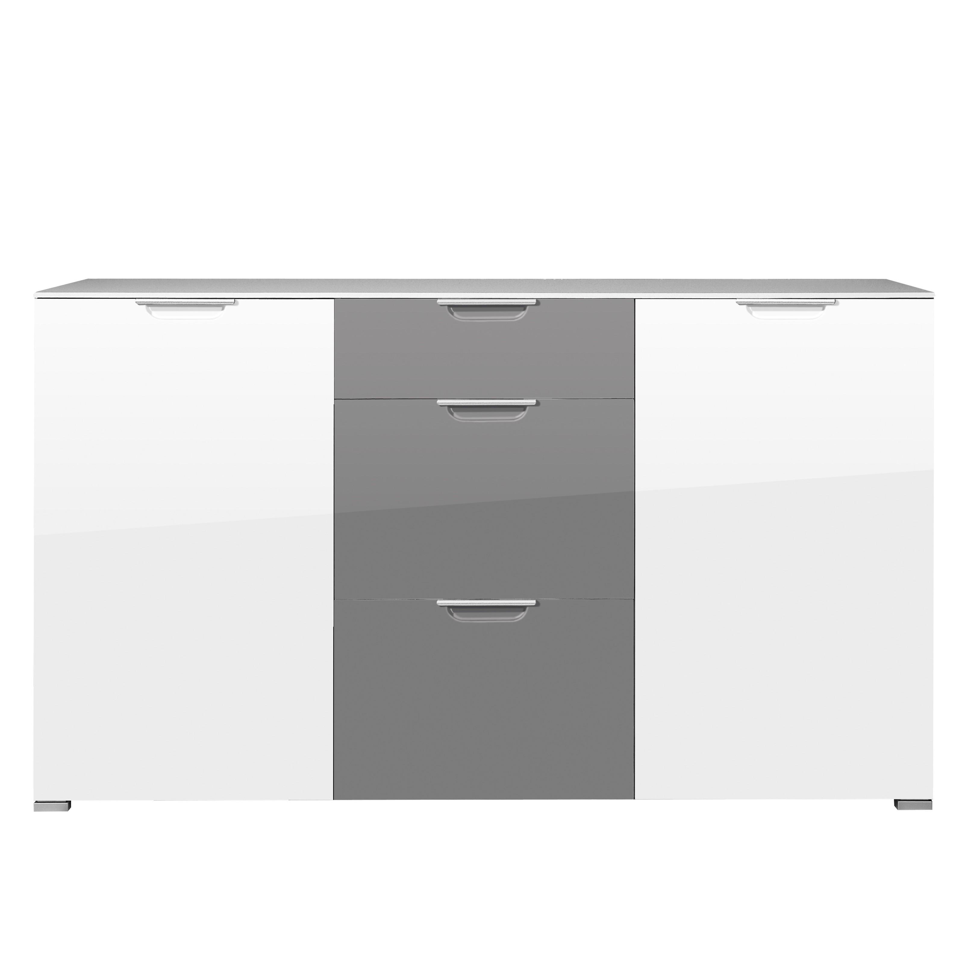 highboard wei hochglanz g nstig ebenbild das sieht. Black Bedroom Furniture Sets. Home Design Ideas