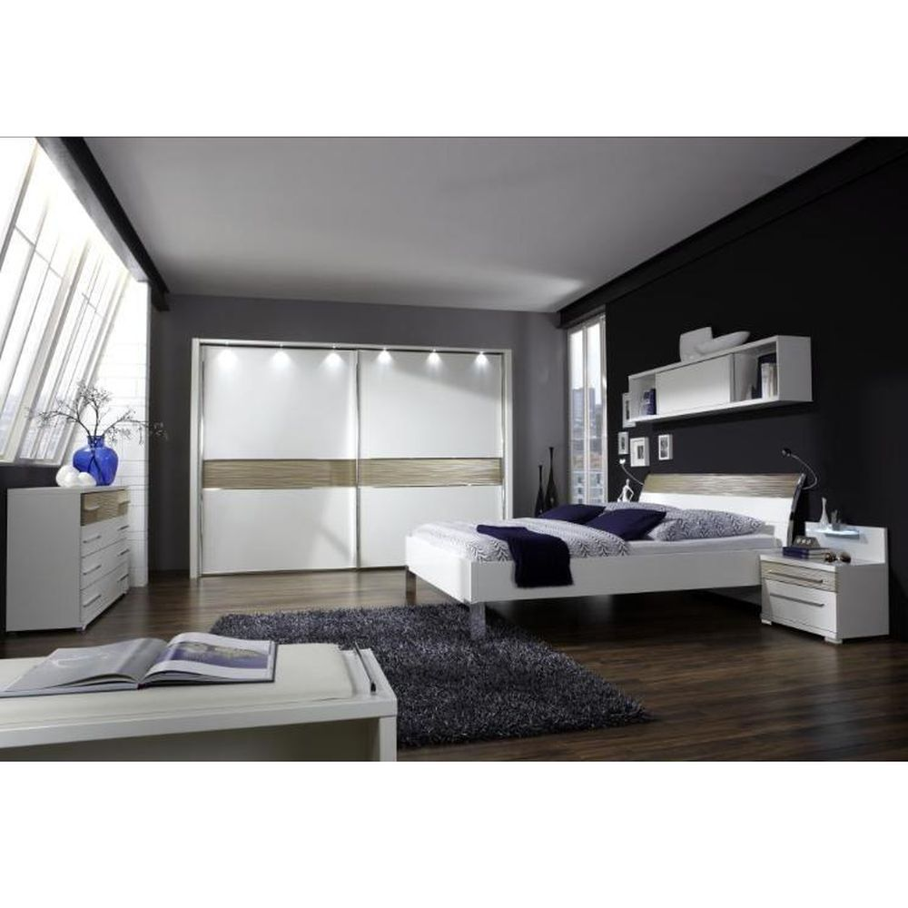 Kommode Alicante – Alpinweiß/Sahara-Struktur – 86 cm x 149 cm x 42 cm, Althoff online kaufen