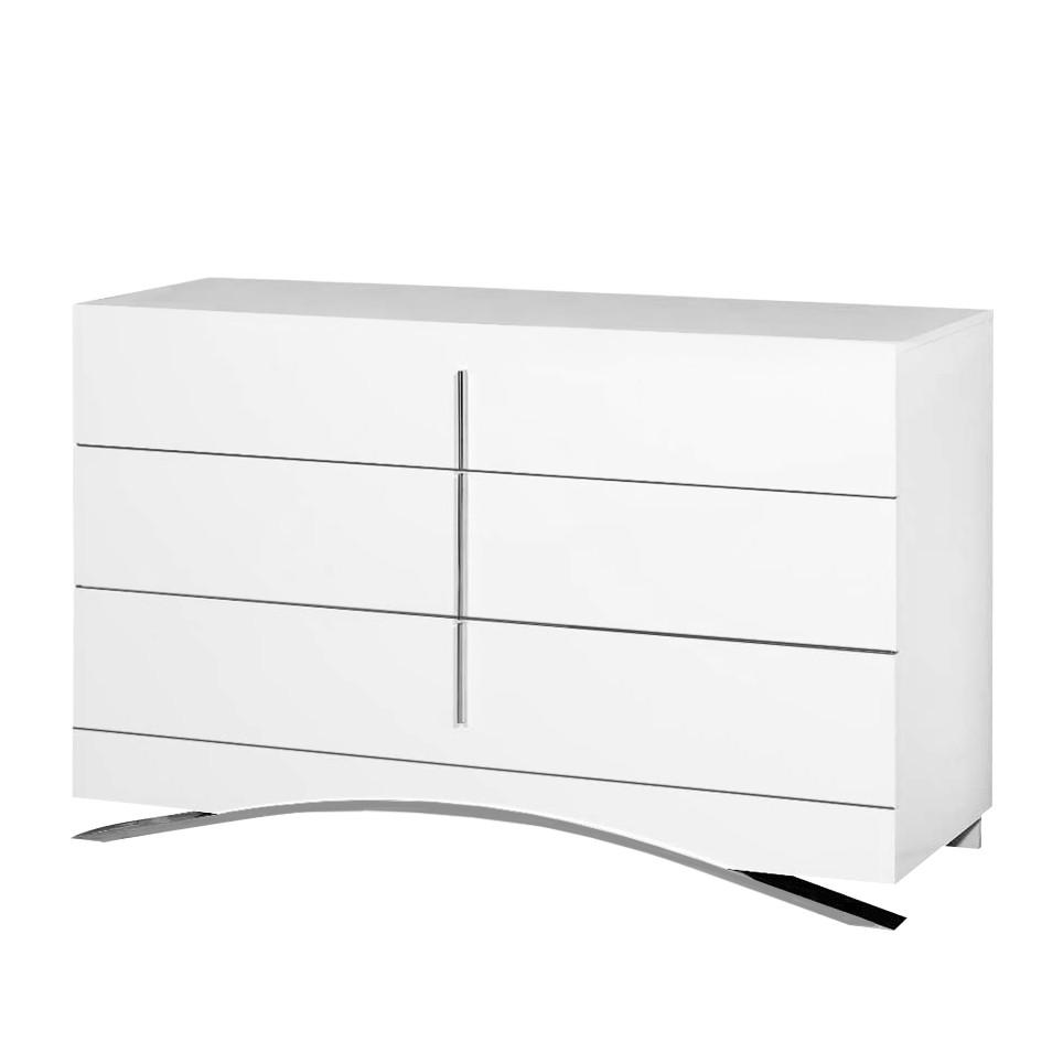 kommode amanencia wei hochglanz mdf violata furniture online bestellen. Black Bedroom Furniture Sets. Home Design Ideas