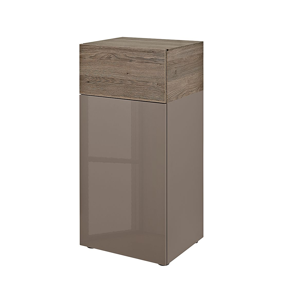 kommode beam i cubanit hochglanz cubanit eiche dunkel dekor arte m g nstig. Black Bedroom Furniture Sets. Home Design Ideas