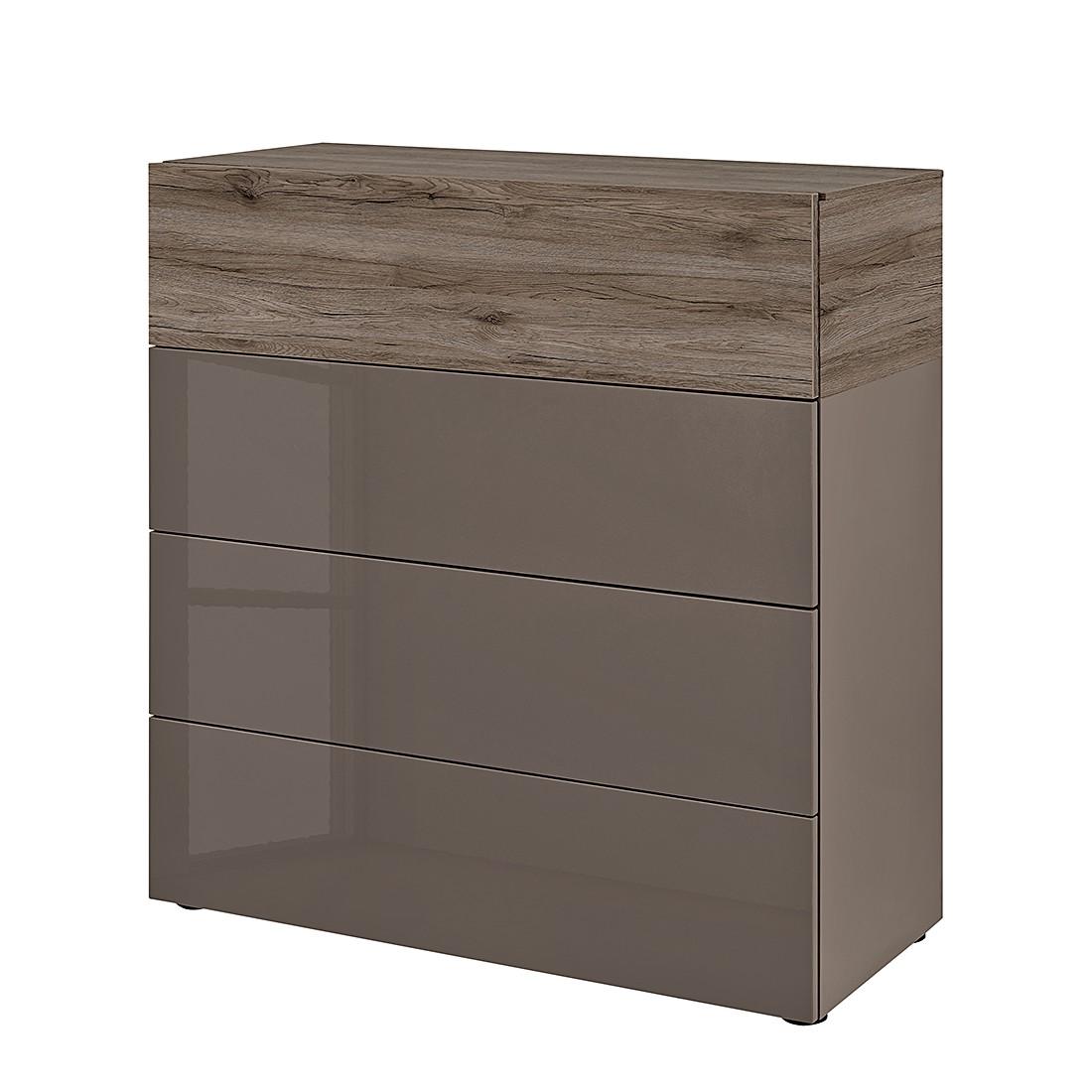 kommode beam iv cubanit hochglanz cubanit eiche dunkel dekor arte m jetzt bestellen. Black Bedroom Furniture Sets. Home Design Ideas