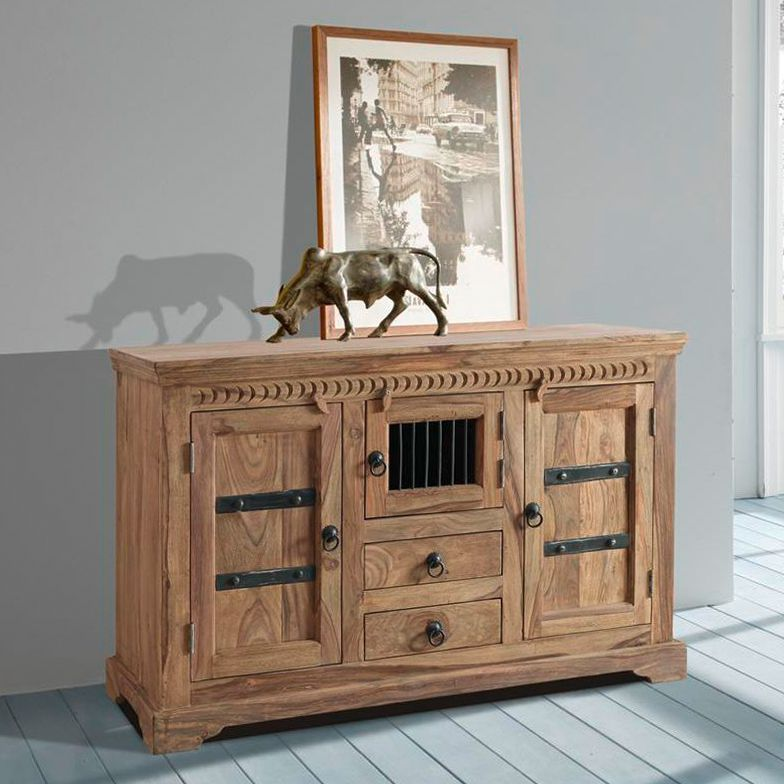 kommode bombay ii sheesham massiv wolf m bel speisen kommoden sideboards kommoden. Black Bedroom Furniture Sets. Home Design Ideas
