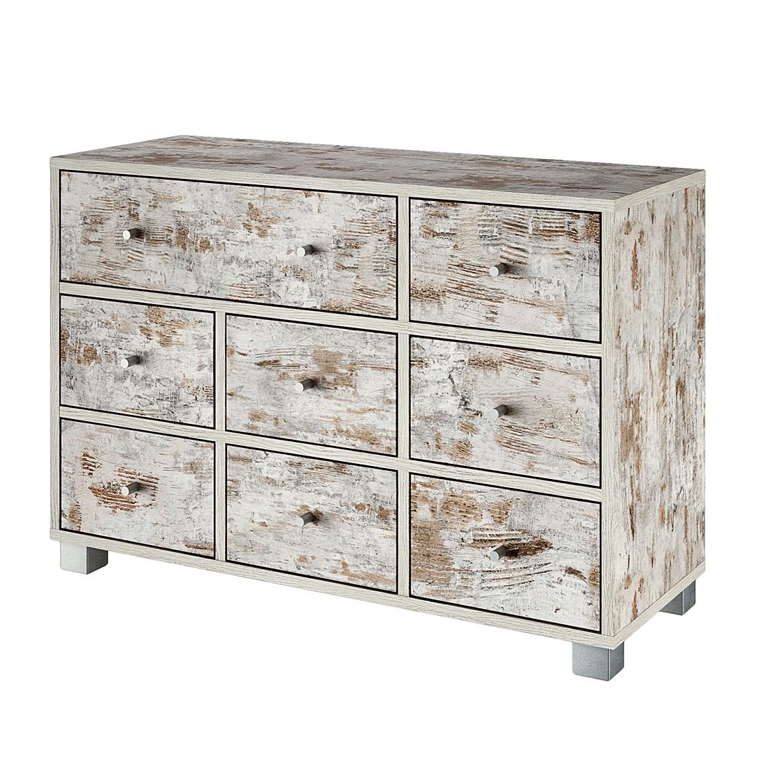 kommode aliane i eiche antik dekor sideboard schrank. Black Bedroom Furniture Sets. Home Design Ideas