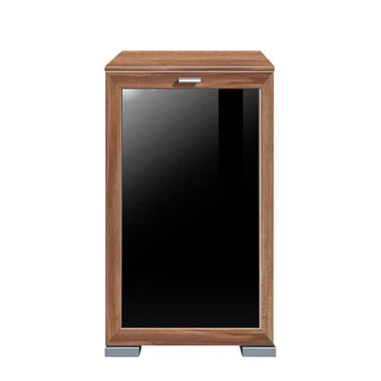 kommode gallery plus glas nussbaum schwarz schrank. Black Bedroom Furniture Sets. Home Design Ideas