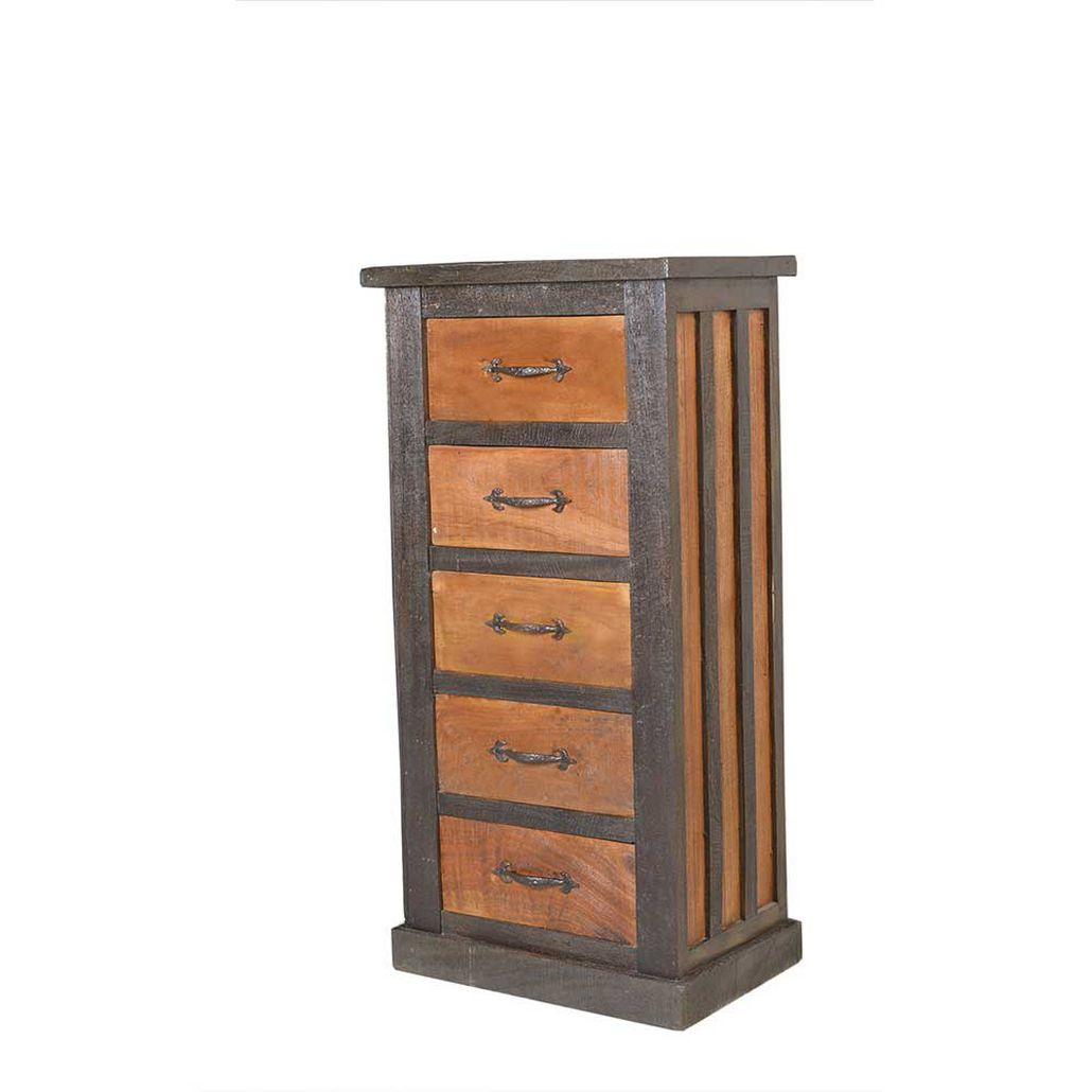 Kommode Grandiova – Altholz – Braun/Grau, Möbel Exclusive kaufen