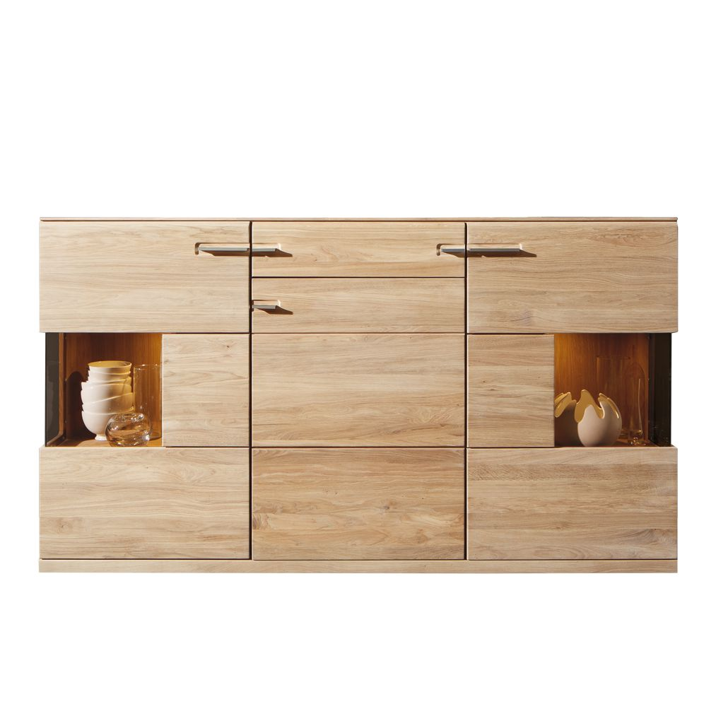 kommode kiano eiche massivholz gewei elt mit. Black Bedroom Furniture Sets. Home Design Ideas