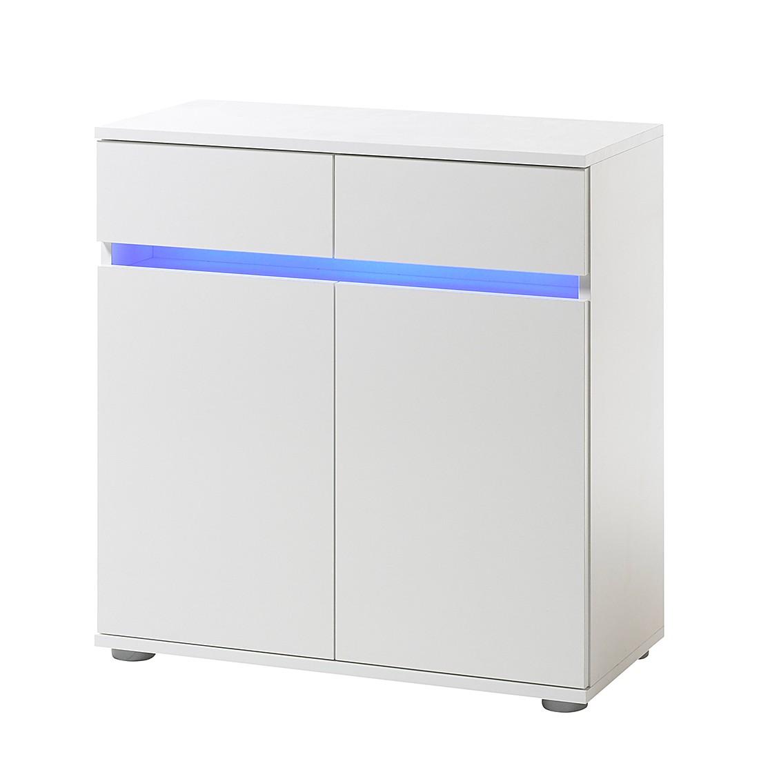 Kommode Light Strip (inklusive Beleuchtung) - Weiß