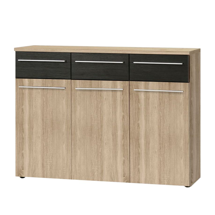 sideboard manaus sonoma eiche schoko eiche dekor. Black Bedroom Furniture Sets. Home Design Ideas