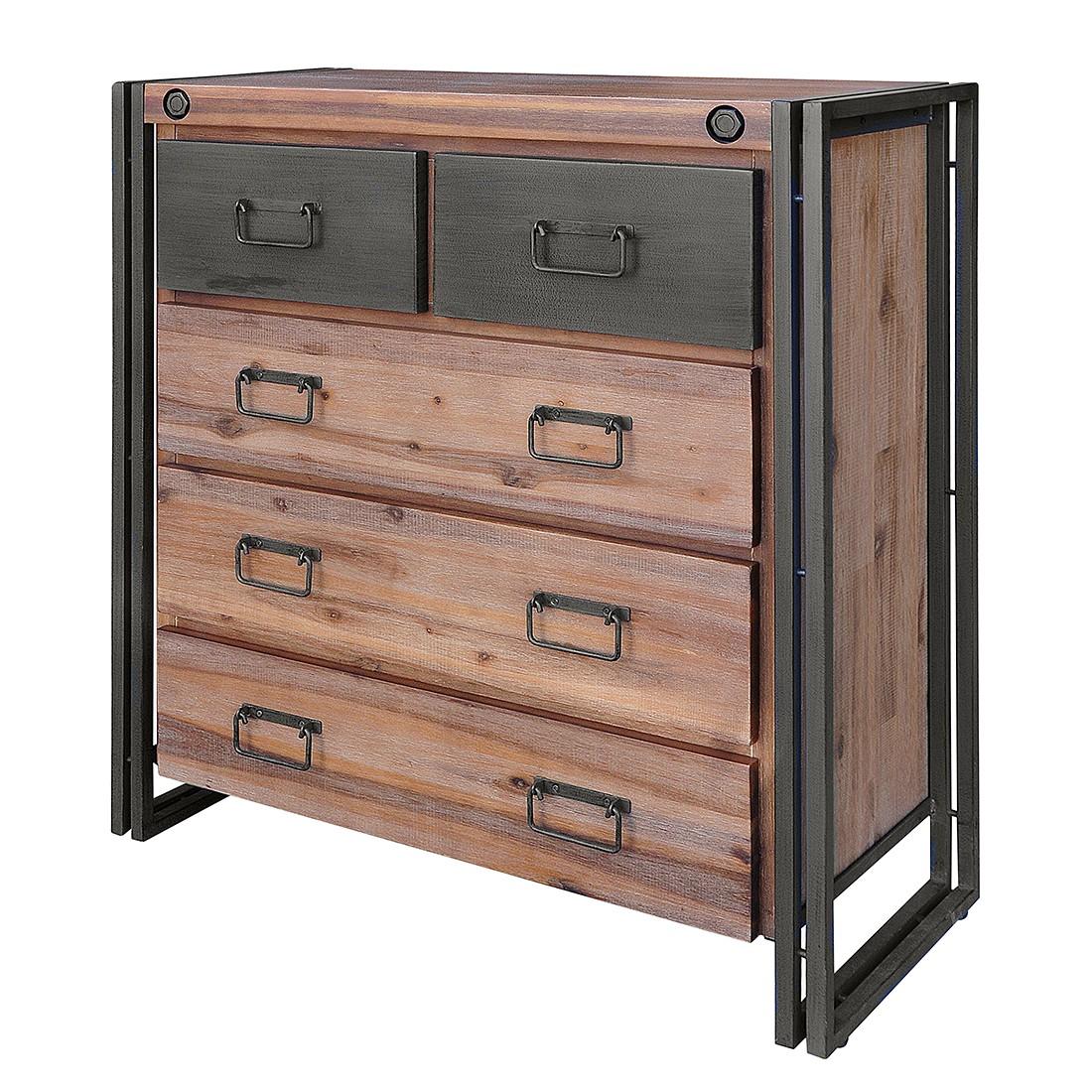 kommode akazie g nstig kaufen. Black Bedroom Furniture Sets. Home Design Ideas