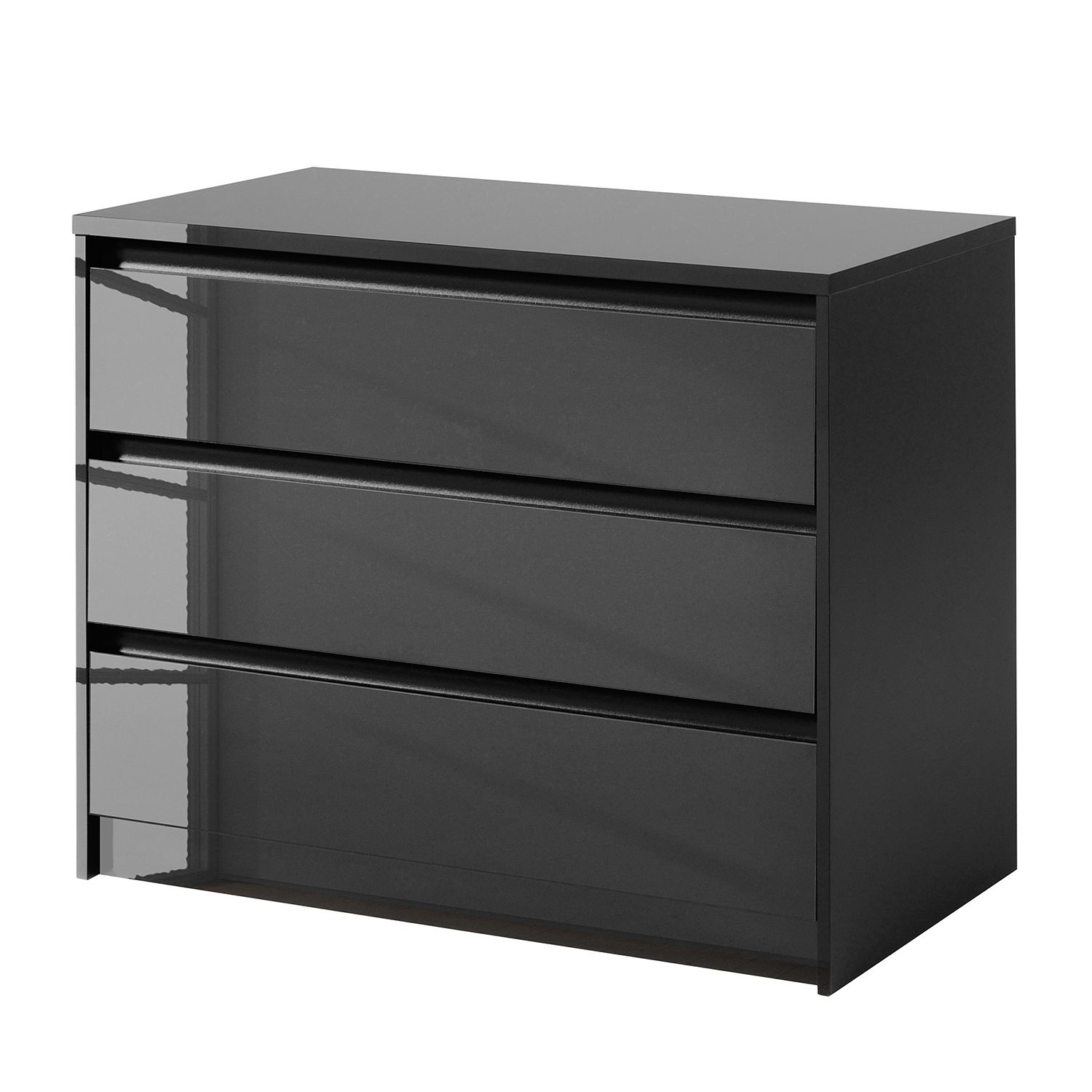 kommode hochglanz schwarz preisvergleiche erfahrungsberichte und kauf bei nextag. Black Bedroom Furniture Sets. Home Design Ideas