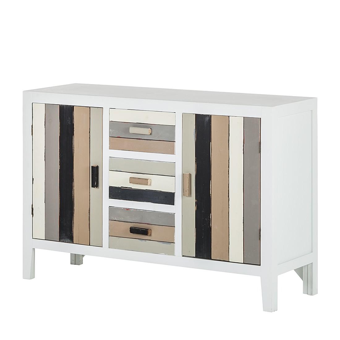 kommode shabby s chic gummibaum teilmassiv. Black Bedroom Furniture Sets. Home Design Ideas